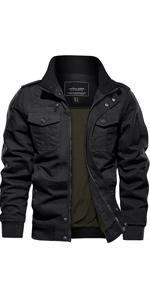military cotton jacket