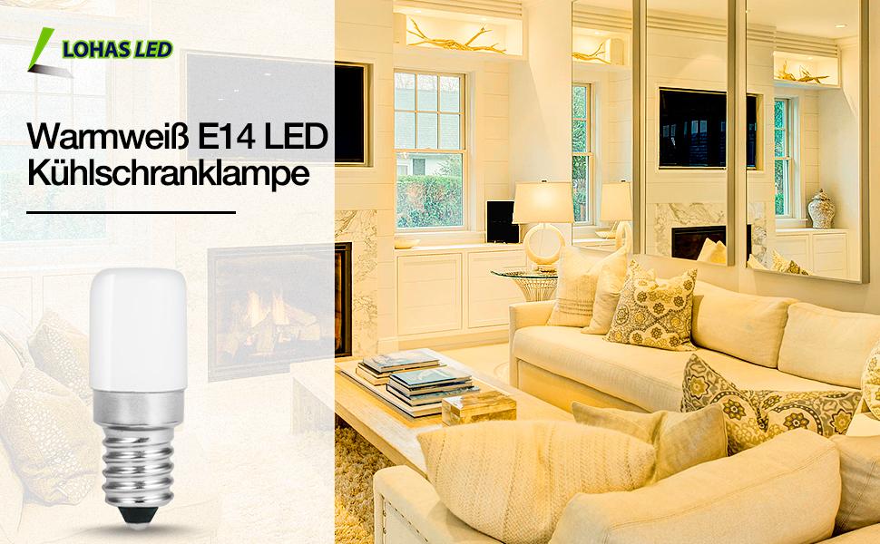 1,5 W E14 LED lamp