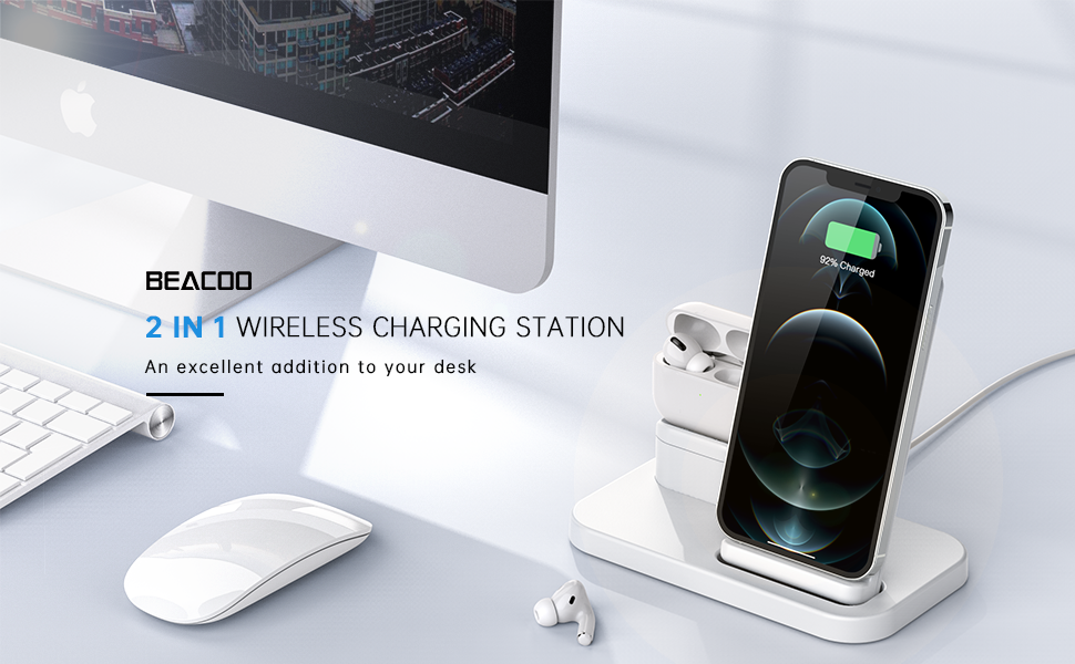 iphone and watch charging station