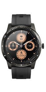fitness smart watch for men android ios phones