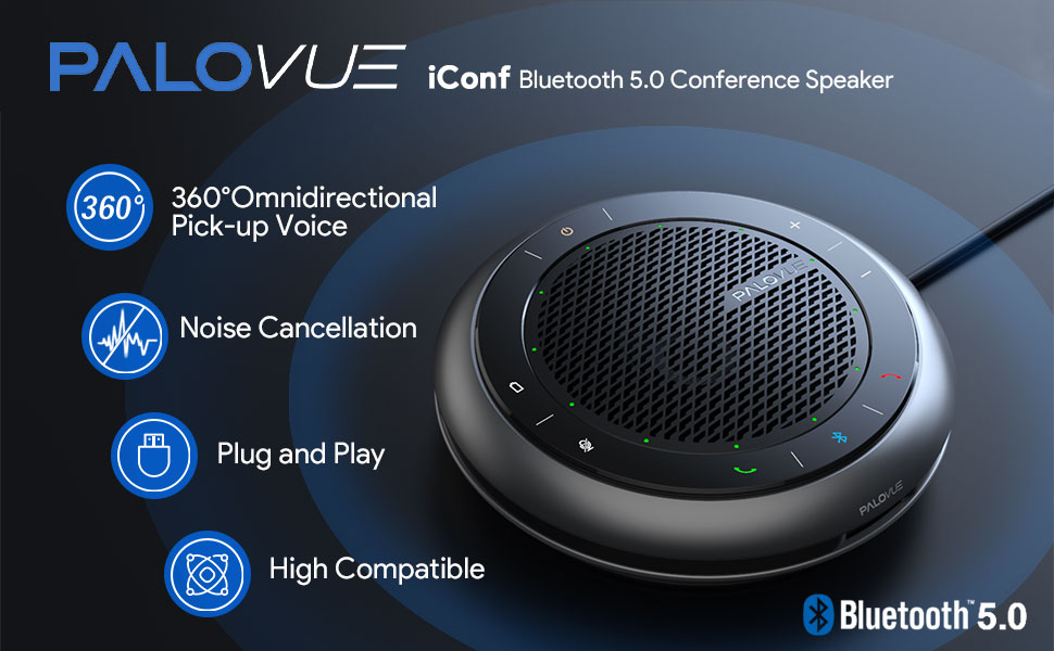 iConf bluetooth 5.0 conference speaker
