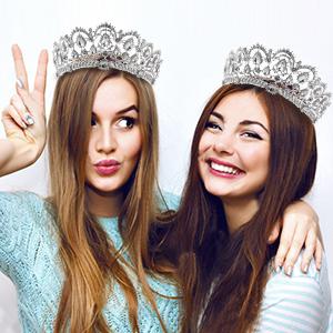Frcolor Tiara Crowns9