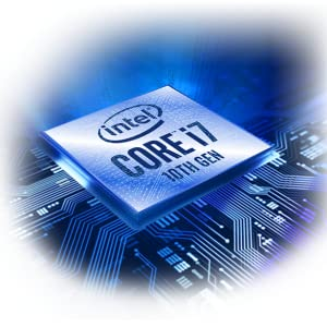 8 core / 16 thread Intel Core i7-10875H