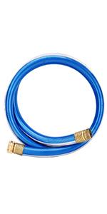 Blue short hose