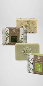 Árbol del té romero jabones artesanales aceites esenciales beleza cuidado personal ecológicos