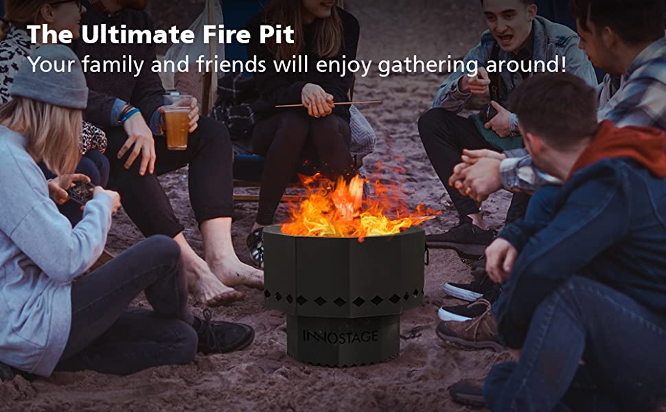 fire pit bowl for outdoor Picnic Camping Cooking BBQ