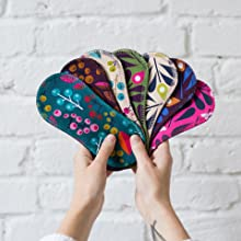 Natissy reusable panty liners