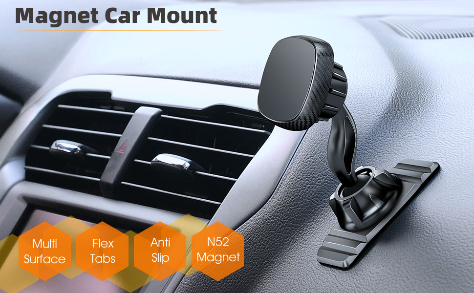 magnet car phone holder