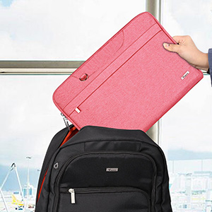 13//14//15//17 Pink Adjustable Strap XZRWYB Laptop Bag