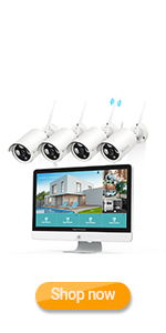 Flashandfocus.com 971fc8c7-6738-44c8-9d6f-809b39e230b0.__CR0,0,150,300_PT0_SX150_V1___ HeimVision HM241A Wireless Security Camera System with 1TB Hard Drive, 8 Channel NVR 4Pcs 1080P Home WiFi Security…