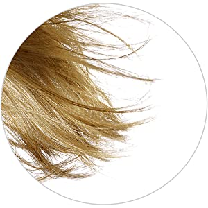 1/2 the width of traditional wig fibers