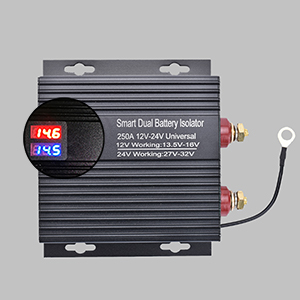Dual battery isolation protection controller