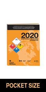 "2020 Emergency Response Guidebook (ERG) - English - 4"" x 5.5"" (Pocket Size), Softbound"