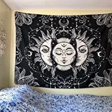 sun moon tapestry
