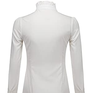 high neck blouses for women