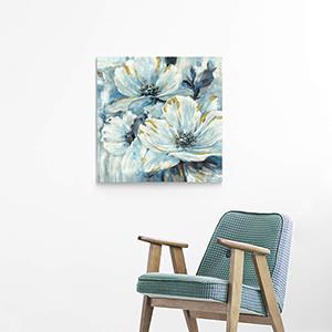flower wall art living room