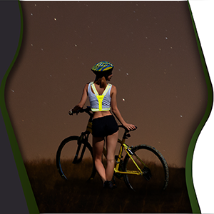 modos patinete reflector trasera xwt amarillo brillantes carreras chalecos ciclistas control del dos