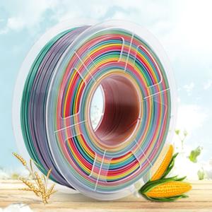Filamento PLA 1,75 mm, 1 kg, multicolore arcobaleno, avvolgimento ...