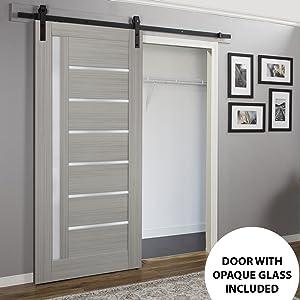 barn doors hardware set 32x80 36x80 30x80 wide