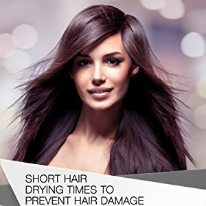 Tame unwanted frizz and create shine on hair