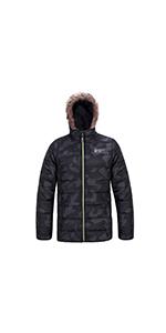 boy puffer  winter warm jacket coat windproof