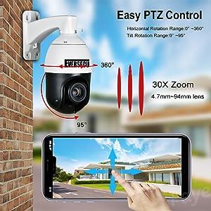 Auto Tracking PTZ Camera