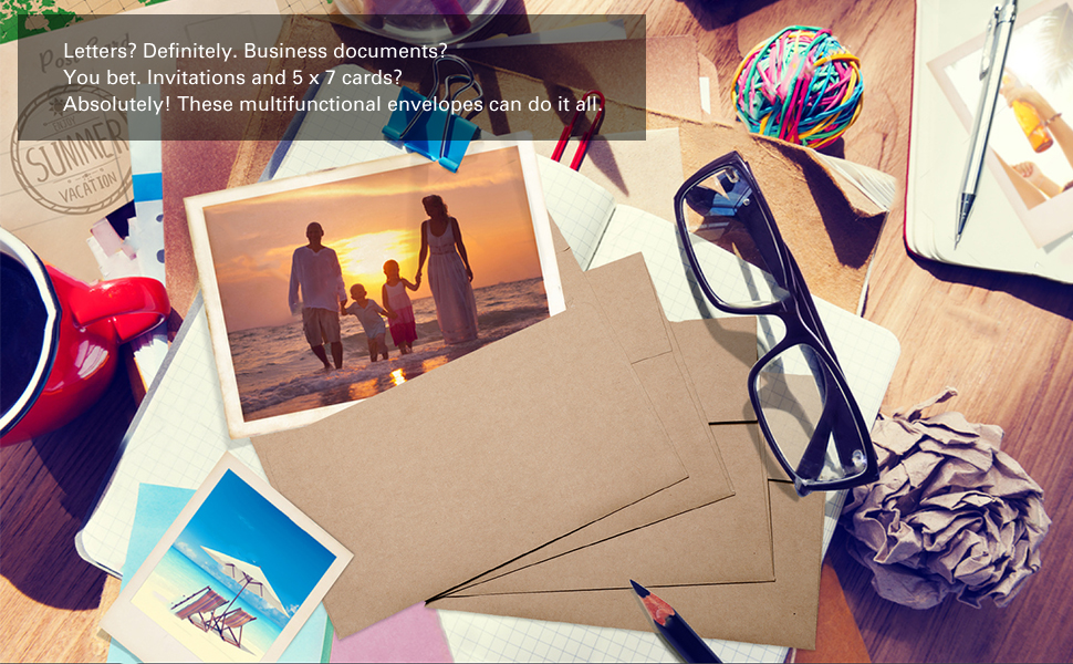 photo cards envelopes