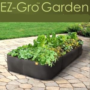 Victory 8 Garden Cama levantada del jardín, Ollas de Telas 2 x 2 ...