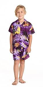 Boy Hawaiian Outfit
