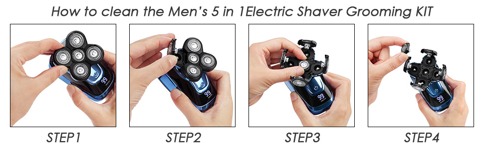 Electric Shavers for Men Bald Head