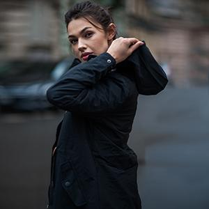 chaqueta de entretiempo cazadora para mujer ropa de abrigo