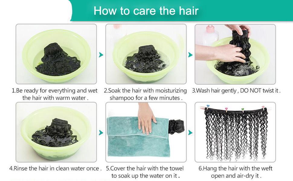 How to care the hair