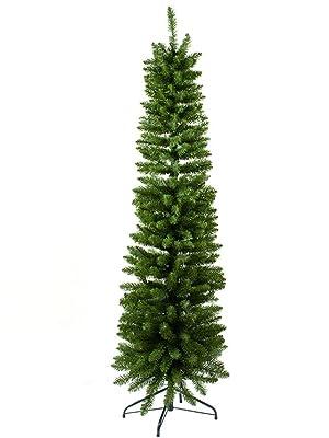 immagine albero natale slim verde