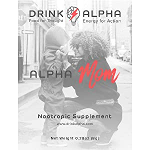 nootropic energy drink mom improve memory boost focus enhance clarity support mood brain