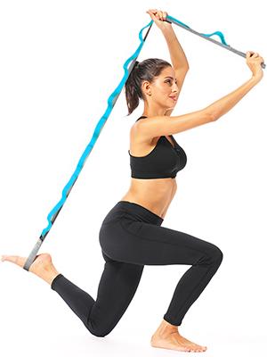 Yoga Pull Strap Gürtel Stretching Band Pilates X0M3