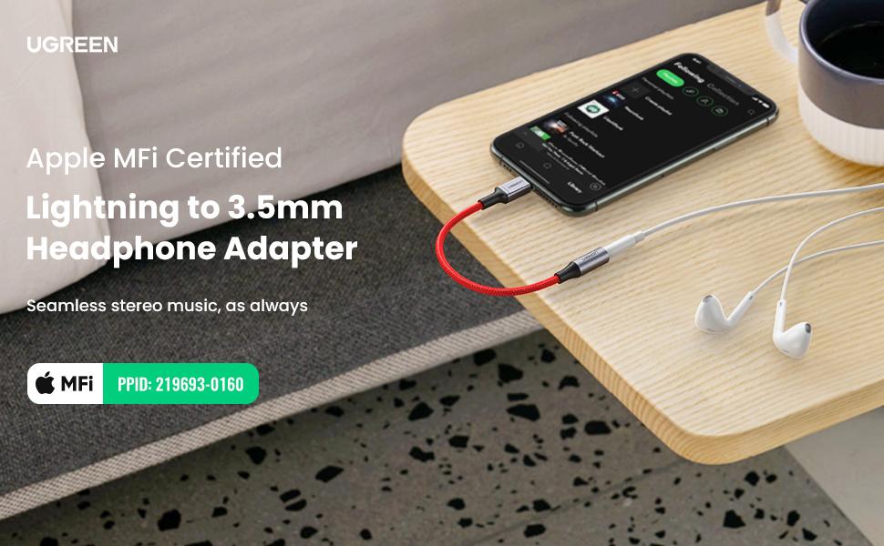 UGREEN Headphones Adapter for Apple