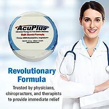 AcuPlus Bath Bomb Formula