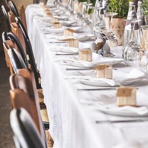 on tablecloths