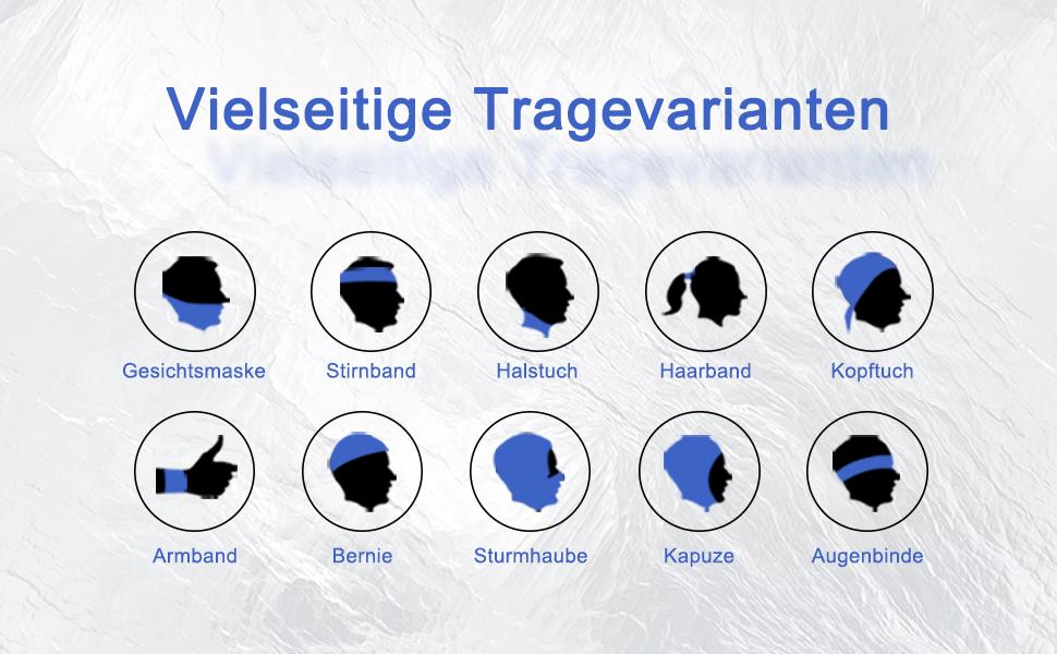 Neujahr Sturmhaube Sonnenschutz Kopftuch Damen Herren Face Schal Unisex Gesichtsdekoration F/ür Motorrad,Ski,Yoga
