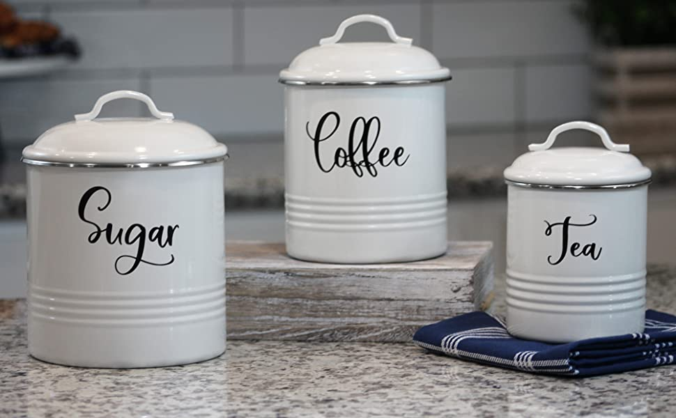 container airtight storage containers rustic black tea counter mason lids pantry home countertop red