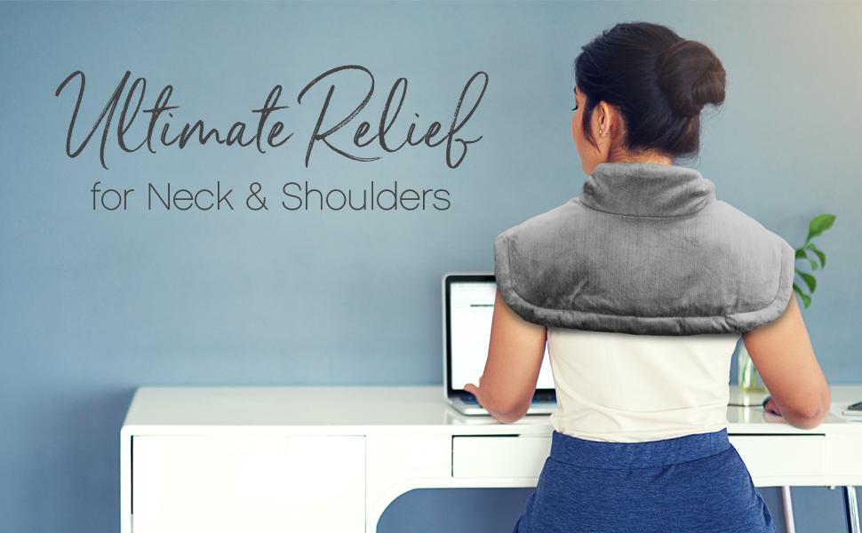 PureRelief Neck and Shoulder Heating Pad, PEHNECK-G