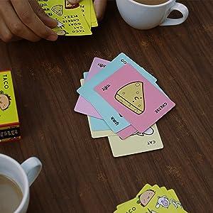 Flip Cards Pile