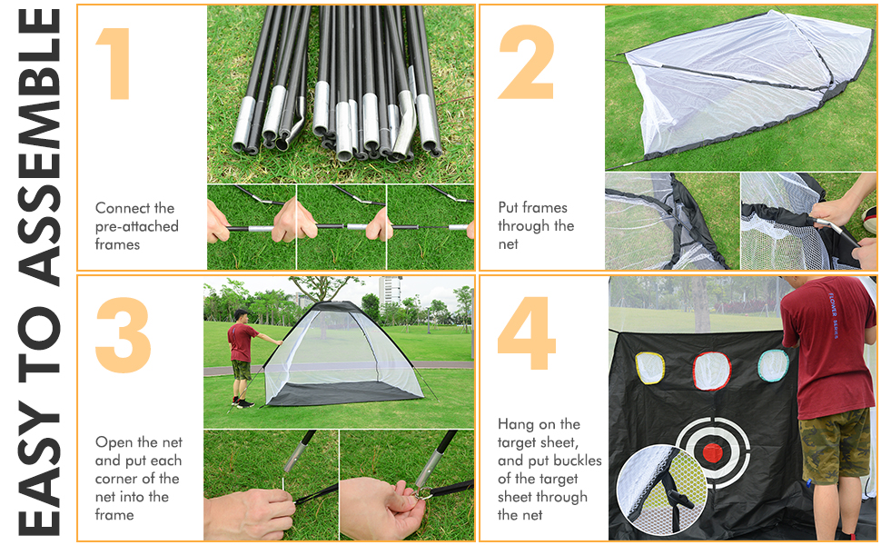 golf nets for backyard