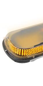 400 led magnetic light bar