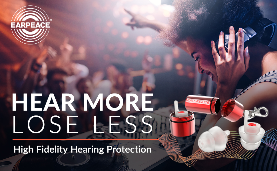 EarPeace High Fidelity Hearing Protection