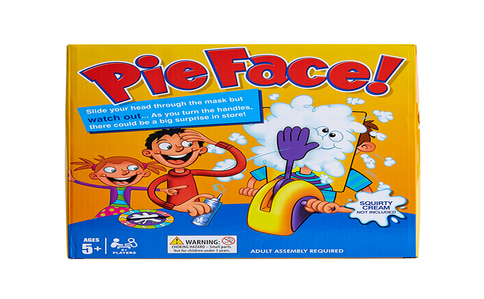 pie face showdown game pie in the face game for kids pieface face cream whip cream