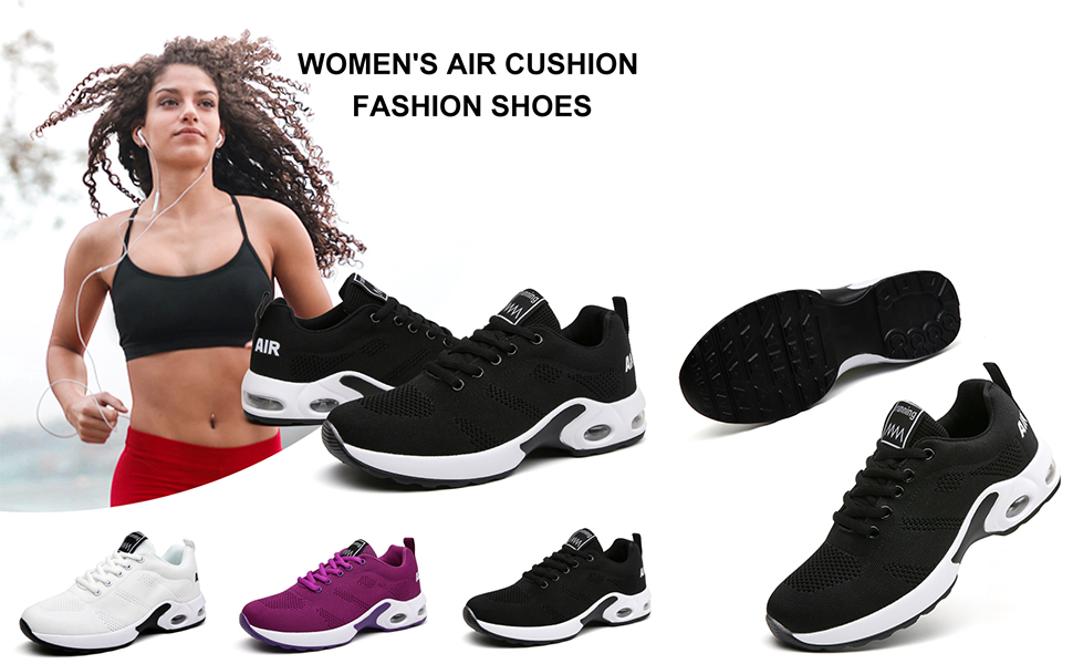 Sports shoes in 3 colors