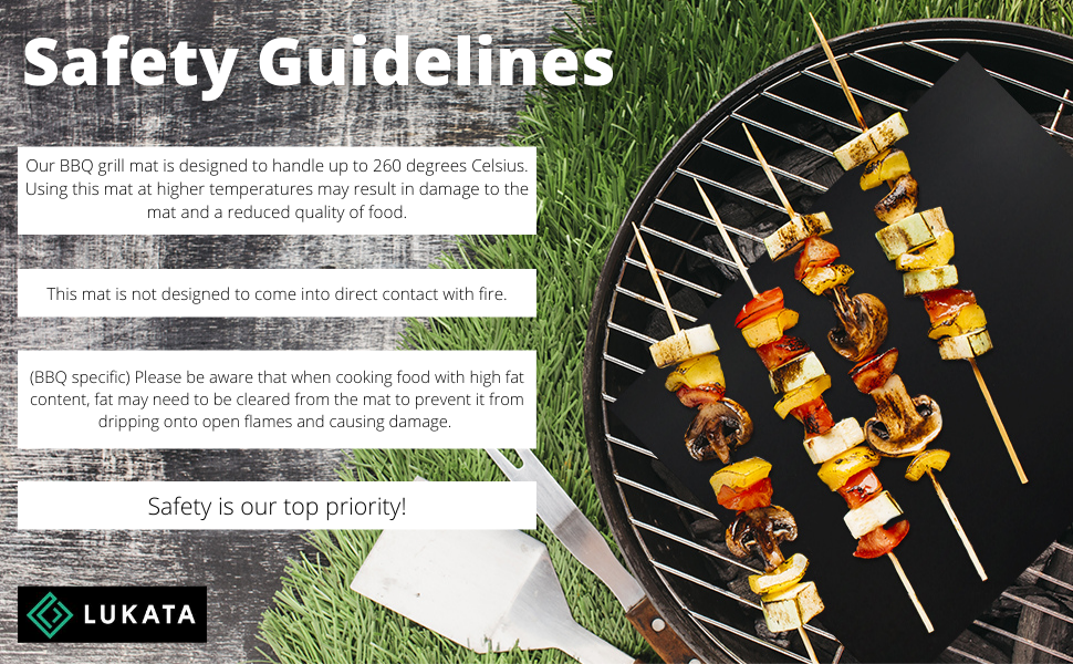 Safety guidelines BBQ specific aware when cooking food