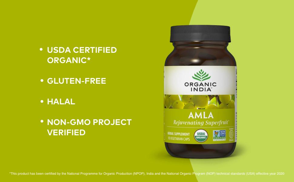 gluten free halal certified usda organic non-gmo patanjali just jaivik tulsi holy basil nutrition