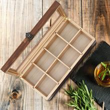 Tea Box Storage Organizer